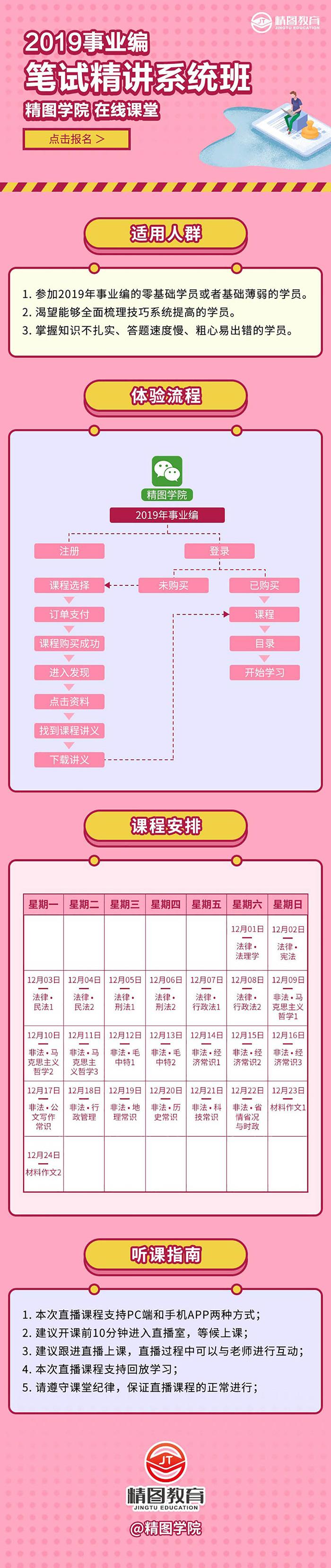 2019事业编笔试精讲系统班